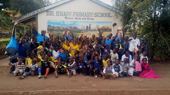 Sanierung und ein Computerraum für die Dr. Krapf Primary School in Nairobi