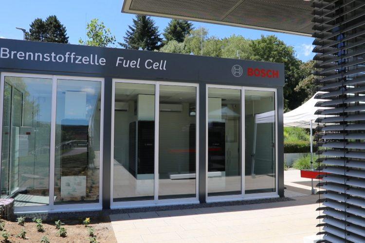 Gas Solution unterstützt Bosch Thermotechnik beim Bau einer  Brennstoffzellen-SOFC Anlage
